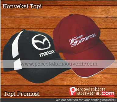 Topi Promosi | Tempat Pembuatan Topi | Konveksi Topi Murah