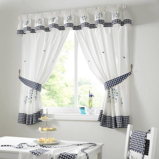 Gingham-Bluebell-Check-Kitchen-Curtains