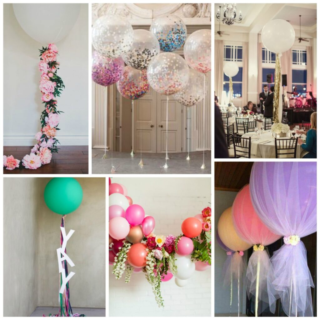 Room Decorative Items Wedding Balloons Perfect Details