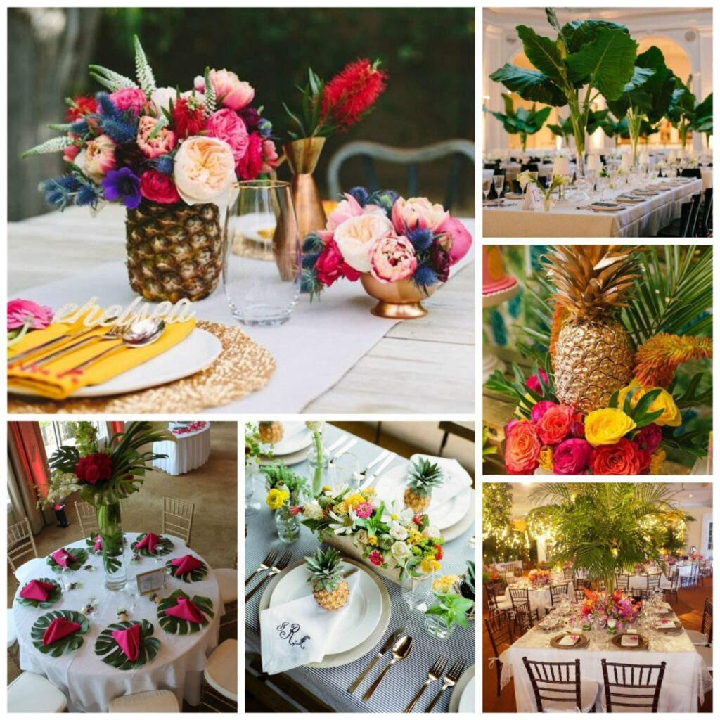 Decoration Mariage Guadeloupe Tropical Wedding Theme Perfect Details