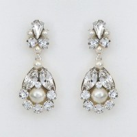 Cheryl King Couture | Baby Chandelier Earrings with Pearls ...