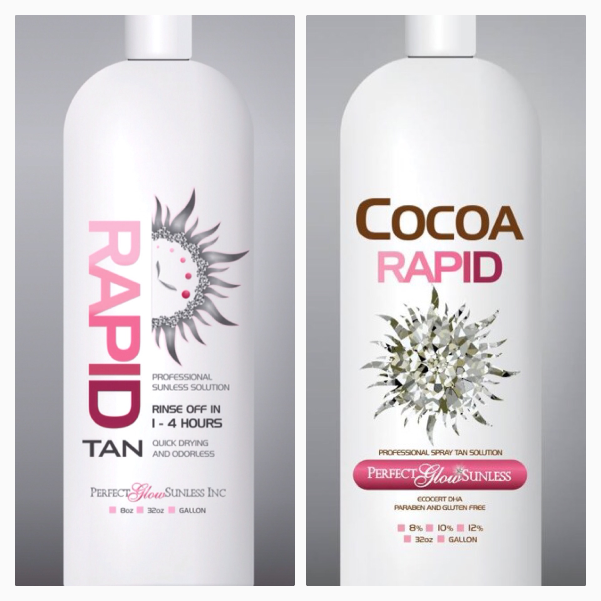 On The Glow Spray Tan How To Use A Rapid Spray Tan Solution