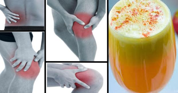 Say Goodbye To Pain In Your Joints, Legs And Spine With This Proven Anti-Inflammatory Smoothie