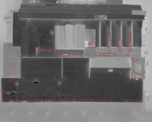 Industrial Roofing Drone Thermal Imaging Inspection