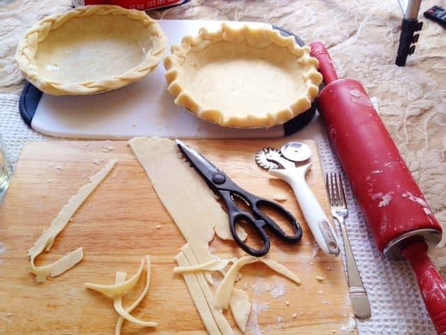 Insanely Easy Pie Crust Recipe!