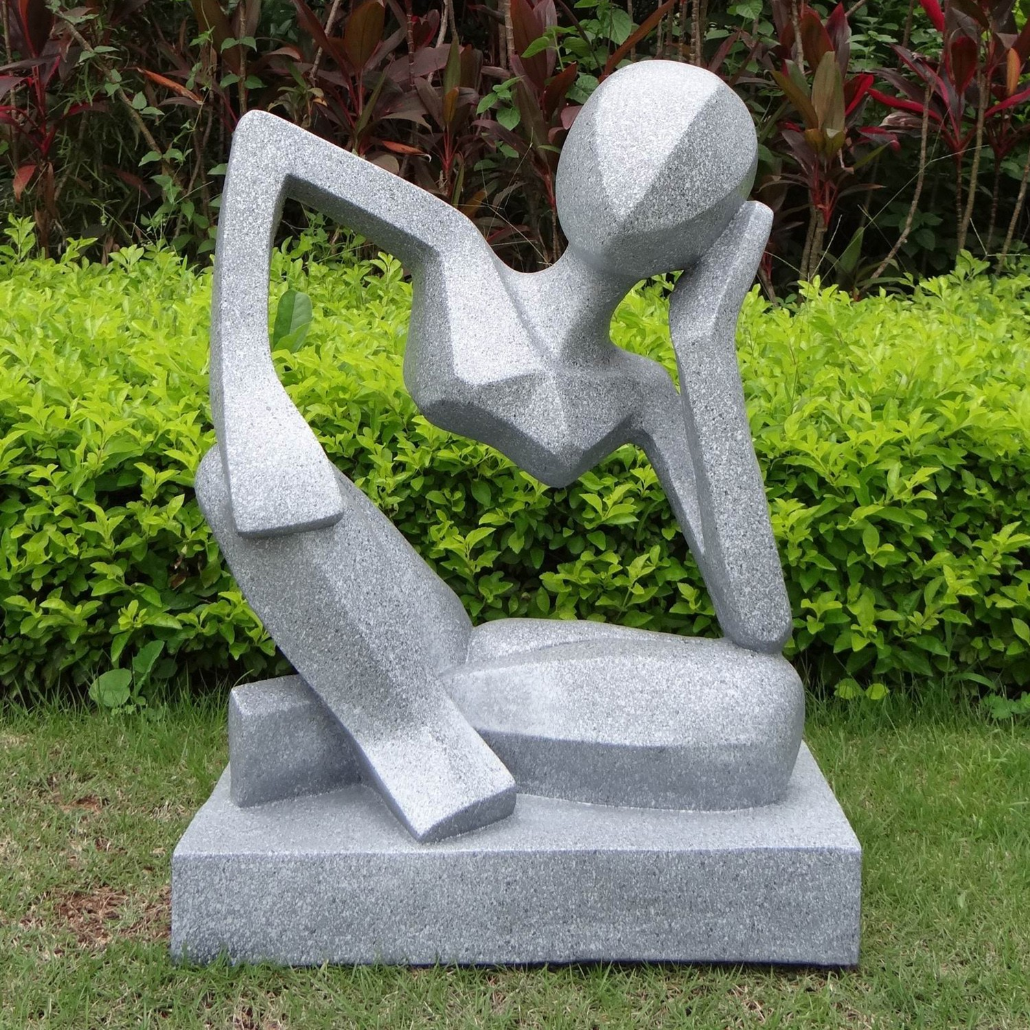 Sculpture Contemporaine Extérieure Three Reasons To Have Statues In The Garden Flamingo