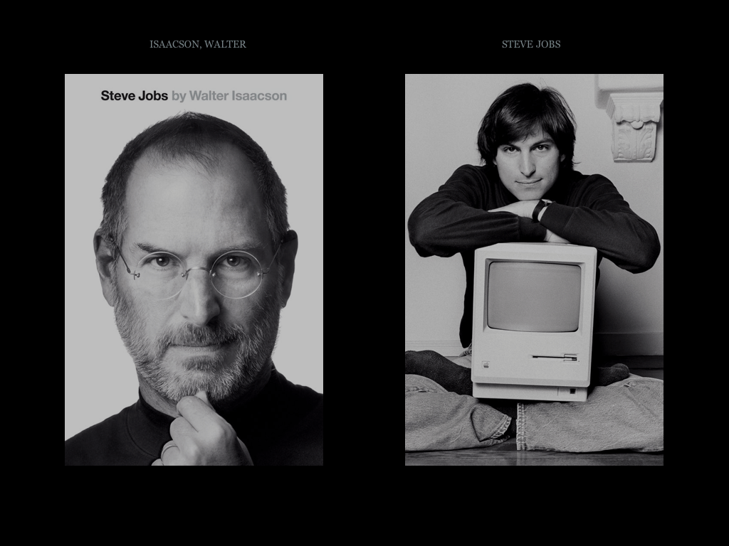 Yesterday morning, I finished reading to 600 page Steve Jobs Biography ...