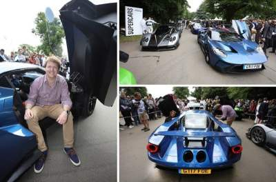 SHMEE150 GETS RIDE IN A FORD GT