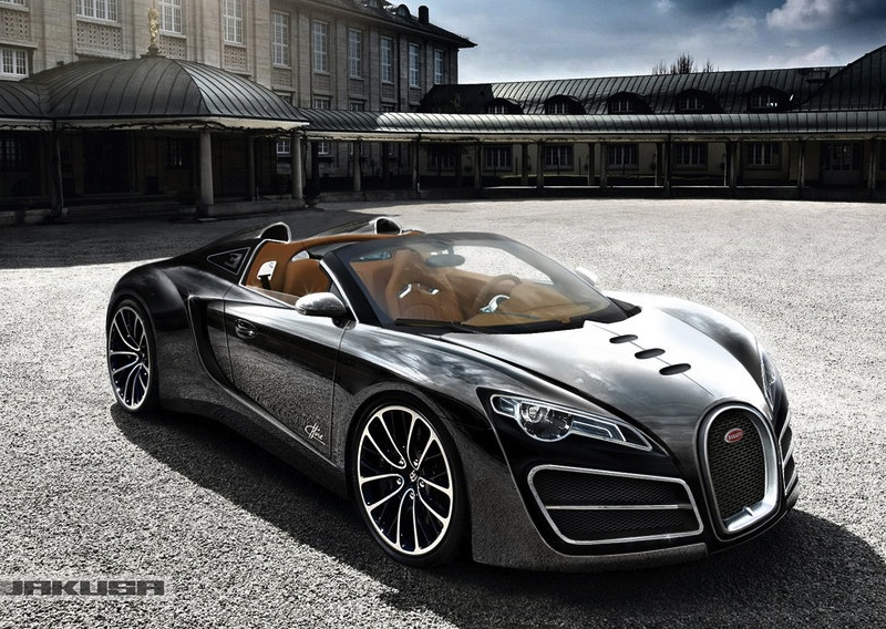 Awesome Cool Car Wallpapers Bugatti Ettore Grand Sport Concept Rendered As Veyron