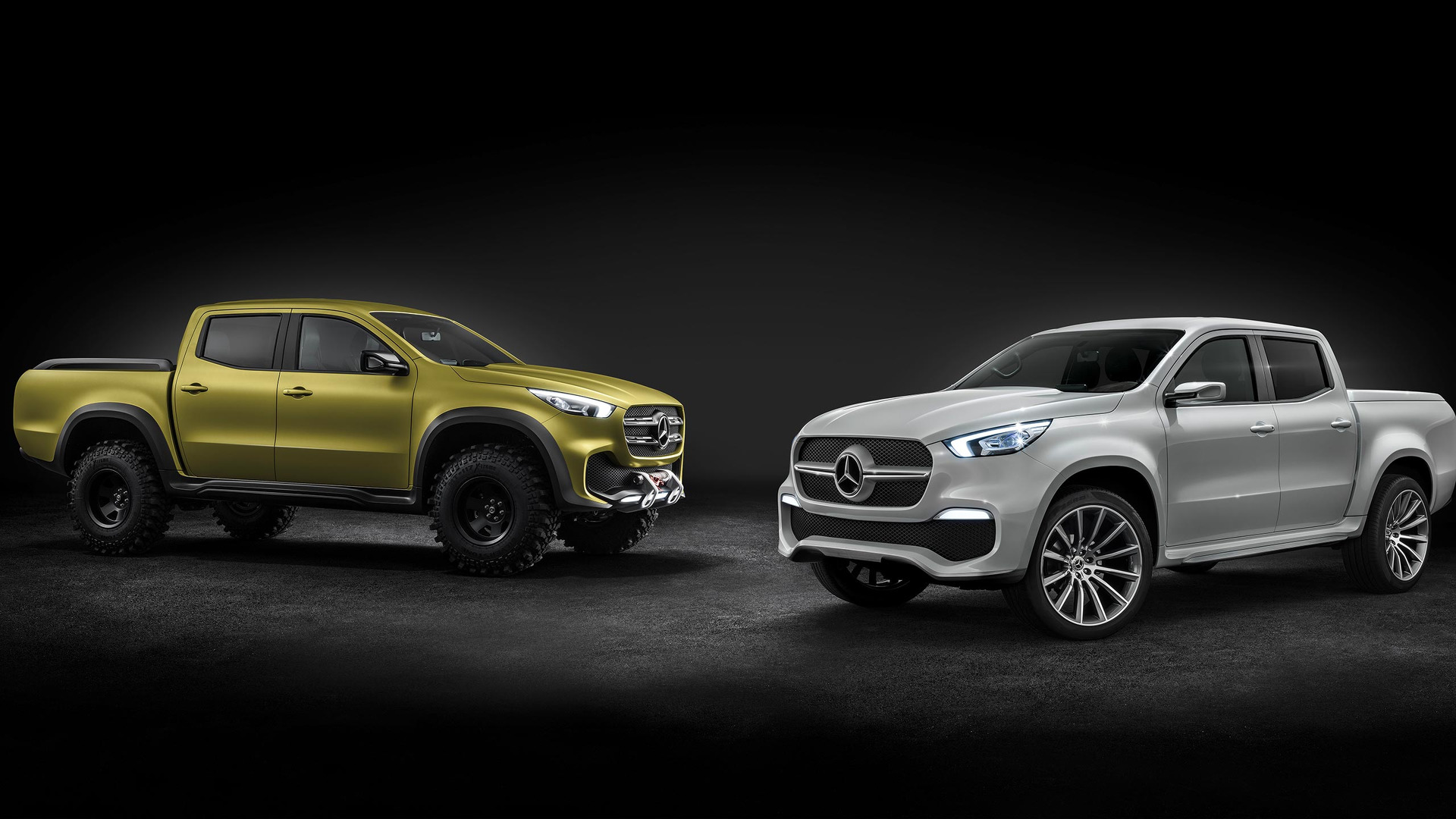 Mb X? S? Mercedes Benz Pickup Concept Revealed Will Become X Class