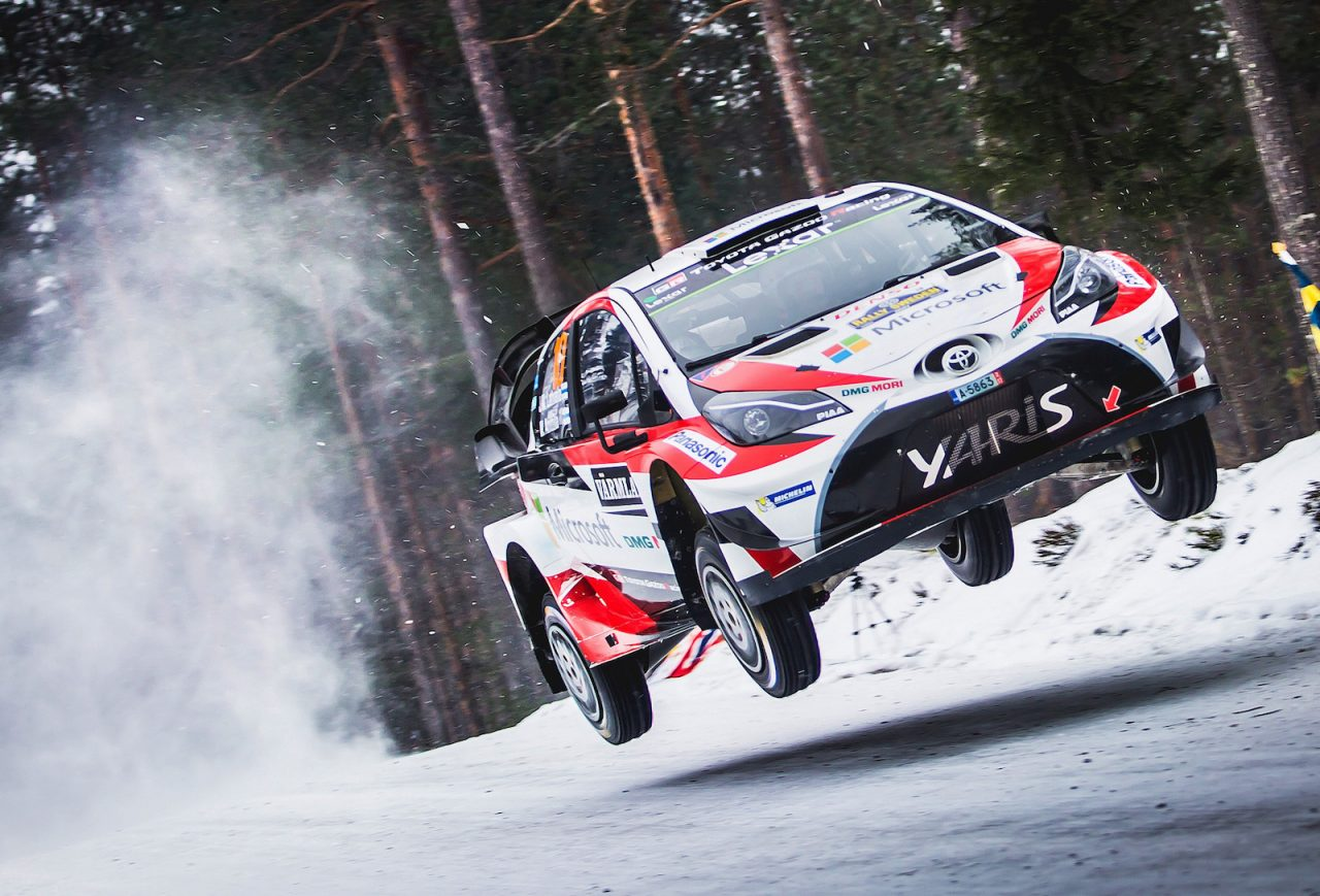Ken Block Cars Wallpaper Toyota Wins 2017 Rally Sweden First Wrc Win Since 1999