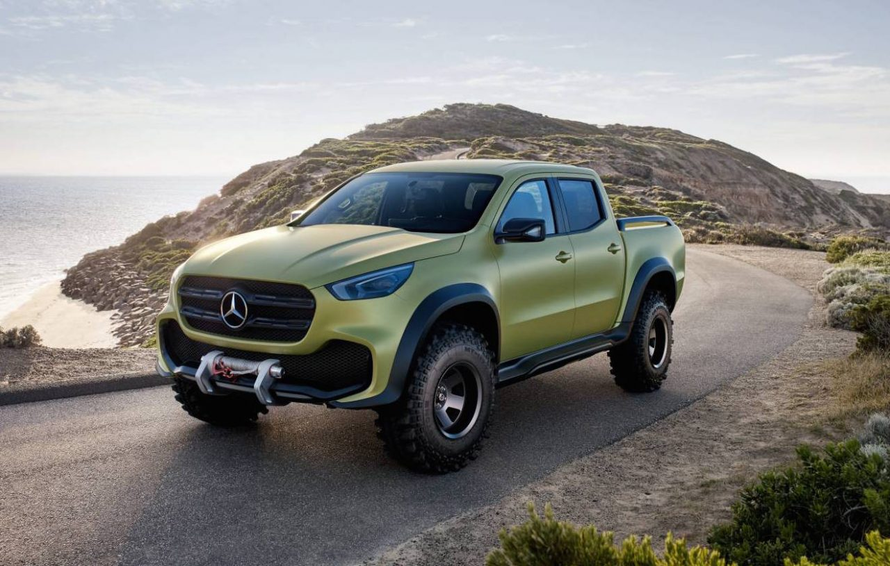 Mb X? S? Mercedes Benz X Class Ute In Australia For Promo Dealers