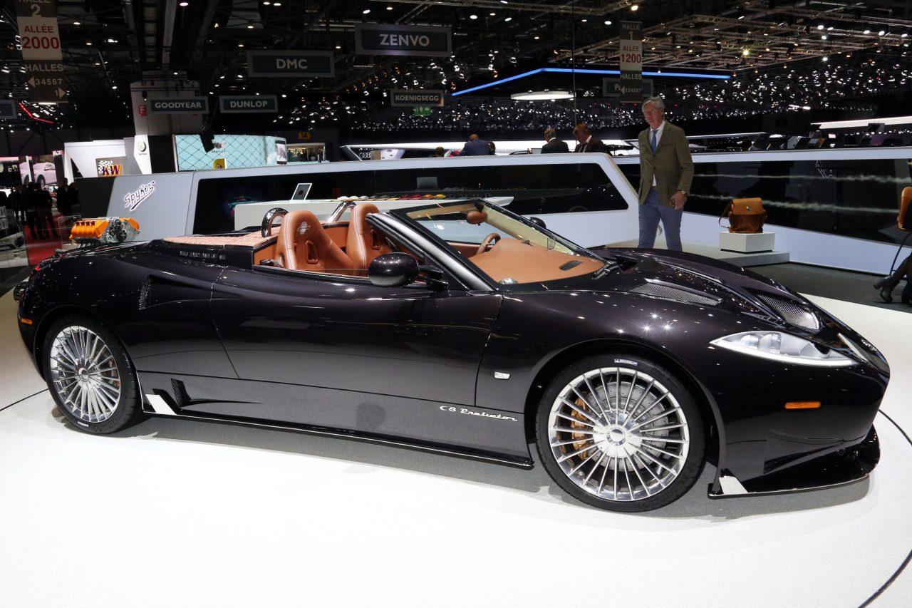 Range Rover Car Wallpaper Spyker C8 Preliator Spyder Revealed At Geneva Show
