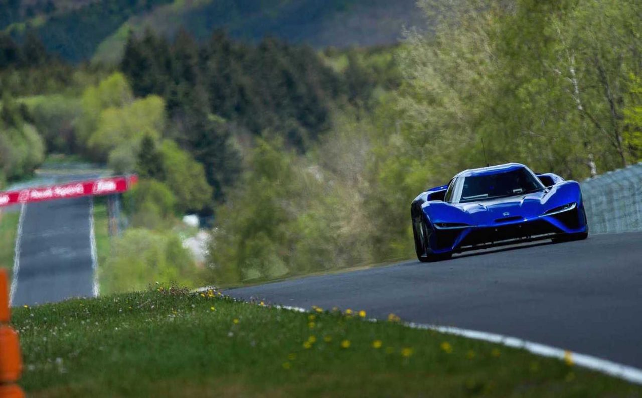 3d Wallpaper Made In China Electric Nio Ep9 Breaks Nurburgring Lap Record