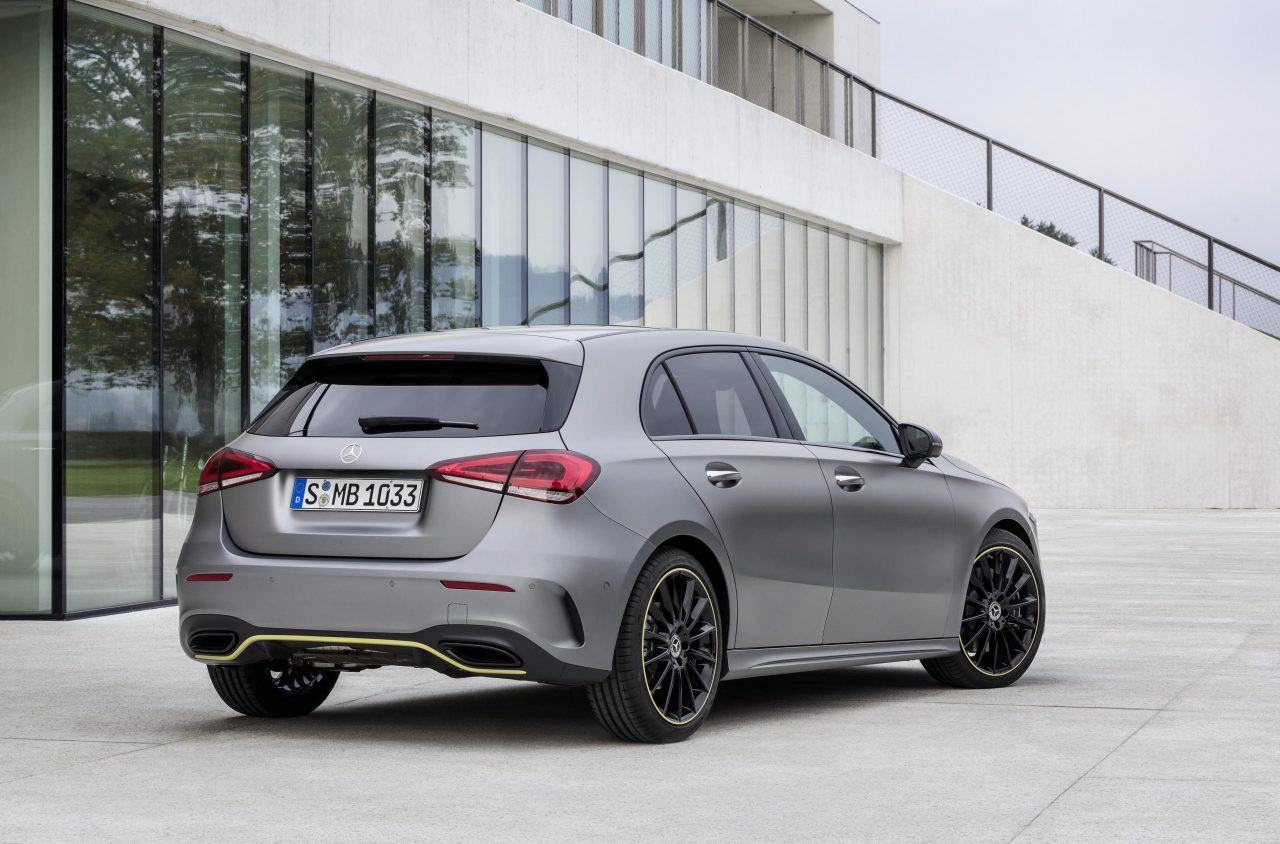 Mercedes Benz New A Class 2018 Mercedes Benz A Class Revealed With All New Design