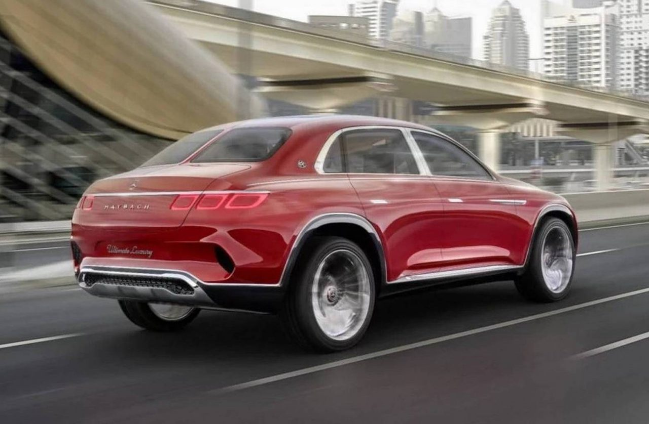 Mercedes Maybach Vision Mercedes Maybach Ultimate Luxury Previews New Suv