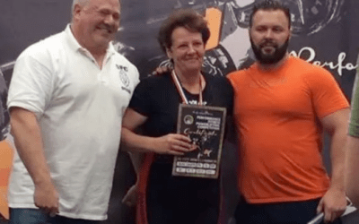 Pevensey 'supergran' battles cancer to become powerlift champ