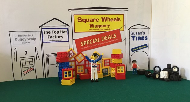 BIG Specials on Square Wheels