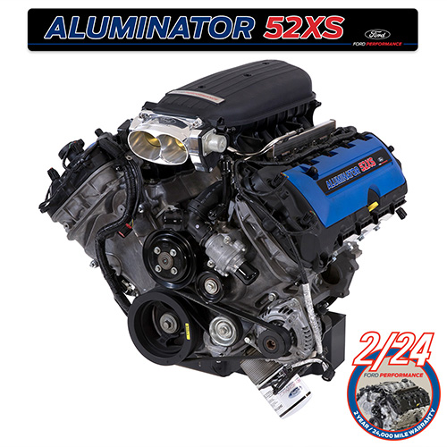 52L ALUMINATOR 52 XS CRATE ENGINE Part Details for M-6007-A52XS