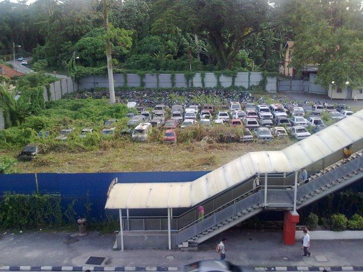 Abandoned site, Bangkok