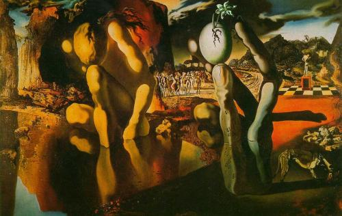 Fleur No 1 1000 Flowers Salvador Dali - Metamorphosis of Narcissus (1937) playing futures Flickr