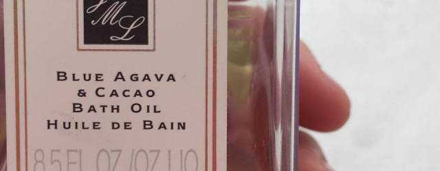 Portia Blue Agave & Cacao Bath Oil