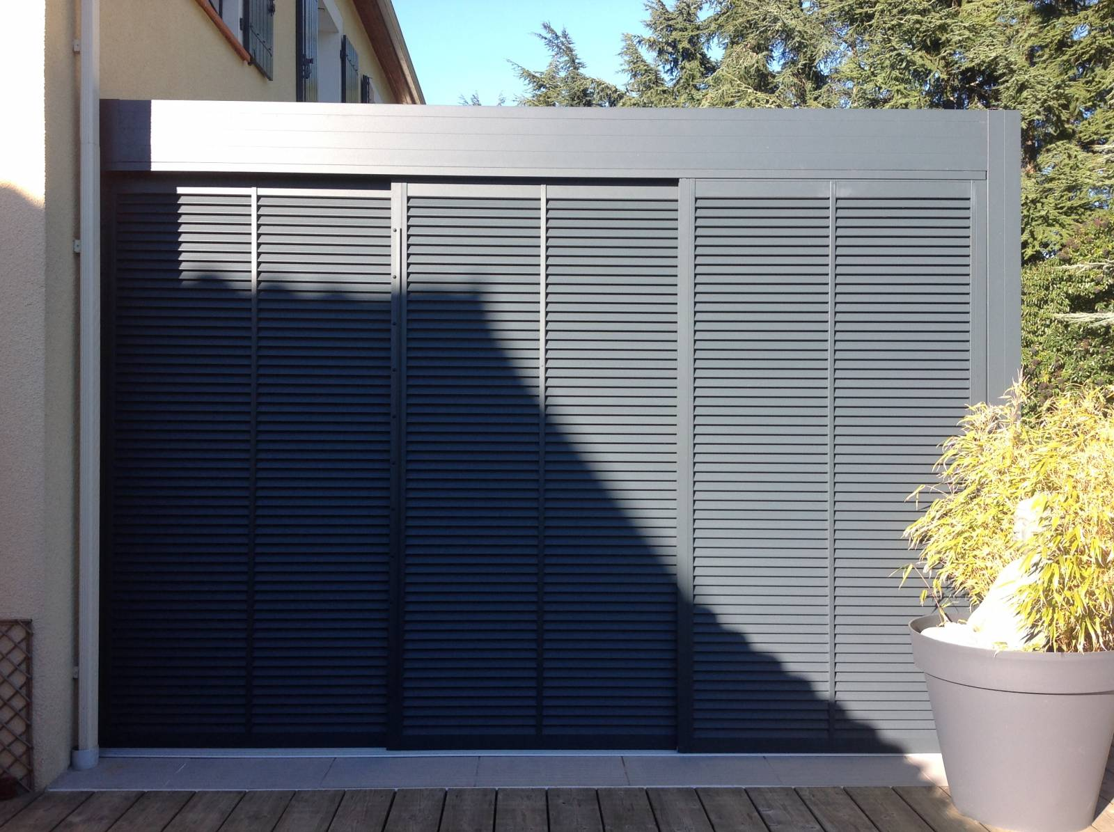 Barette Led Options Pour Pergola Bioclimatique - Installation De