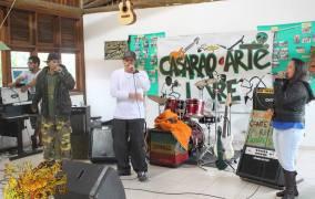 Apresentação do Grupo CZO Rap na sexta edição do Casarão Arte Livre - Foto: Reprodução.