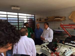 Da esquerda para a direita, Mauro, Suplicy e Adilson Amadeu (Foto: Imargem)
