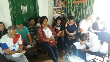 Oficina Repórter da Quebrada na Casa Ecoativa.