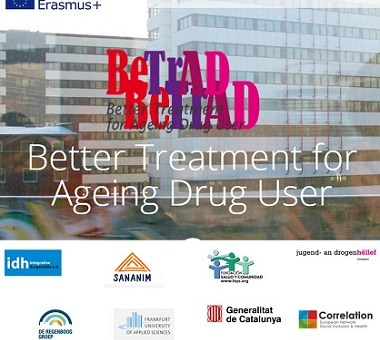 Projecte BeTrAD, millor tractament per a persones usuàries de drogues que envelleixen