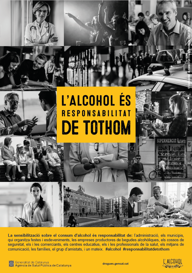 Setmana de sensibilització sobre els riscos del consum d'alcohol 2018