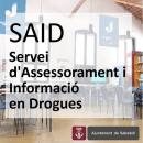 Engega a Sabadell un nou Servei d'Assessorament i Informació en Drogues