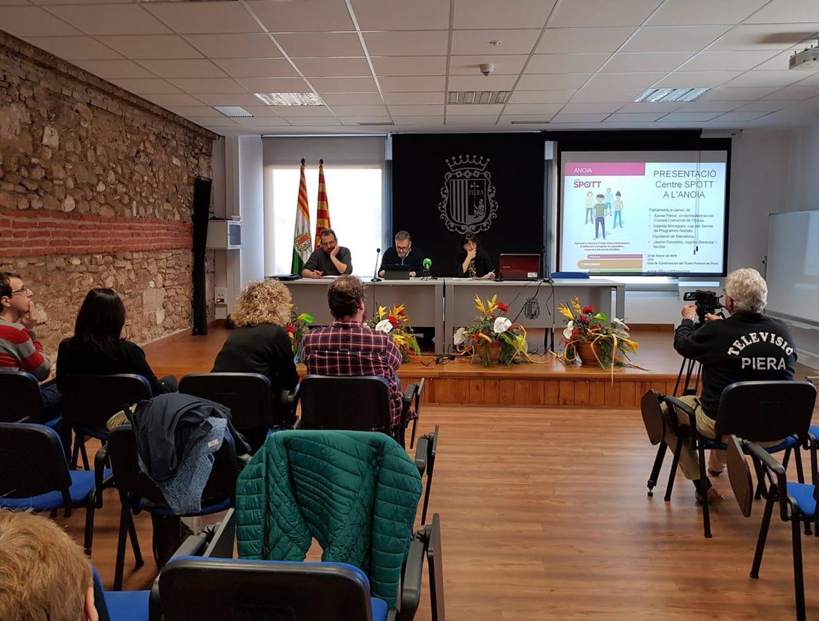 La Diputació de Barcelona obre el centre Spott Anoia per menors amb addiccions a les drogues i pantalles