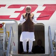 Indian Prime Minster Nerendra Modi arrives in Brisbane for the G20 summit