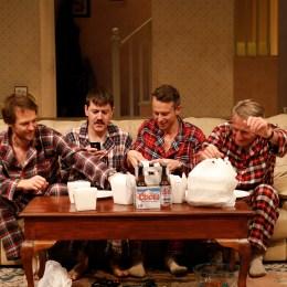 Photo: Jeff Busby With: Gareth Reeves, Hamish Michael, Luke Ryan, John Gaden