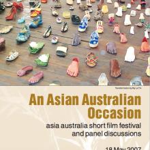 'An Asian Australian Occasion' program cover. Image courtesy of Indigo Willing.