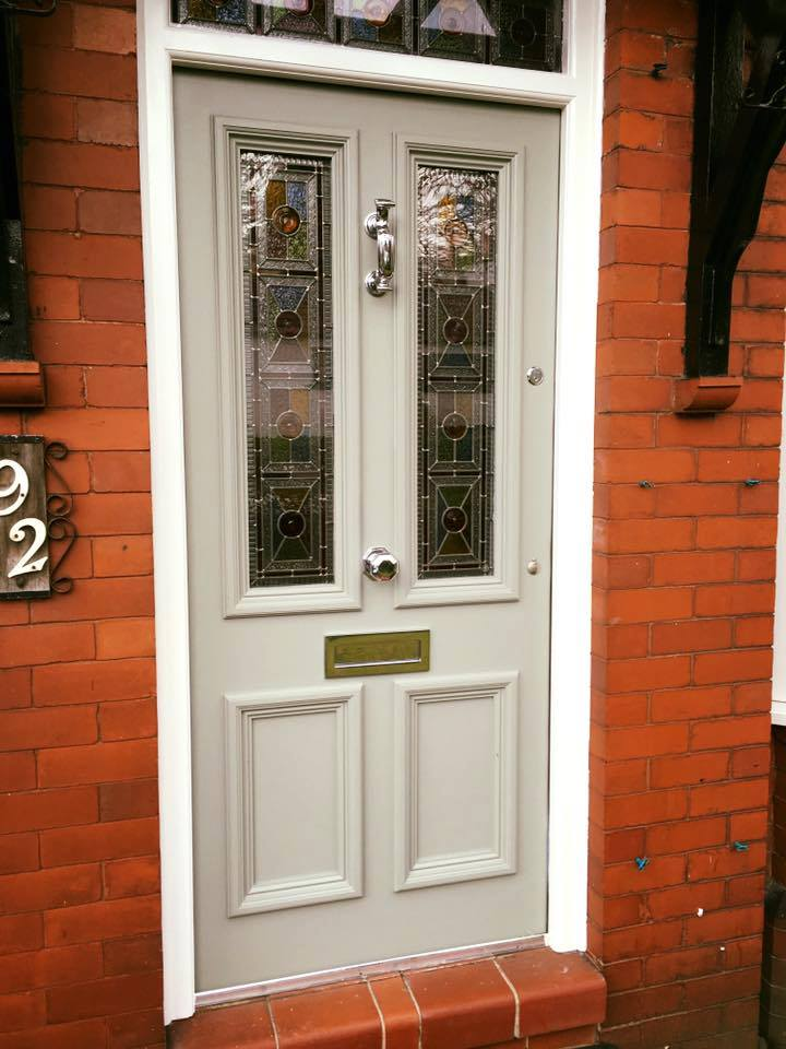 Front Door Design Traditional Bespoke Traditional Hardwood Four Panel Door - Period Home Style