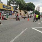 El ciclopaseo de la 27 los domingos de Recreovía. /FOTO EKATHERINE GARAVITO