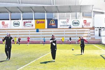 Entreno previo al partido frente a Envigado que terminó perdiendo 0-1 Atlético Bucaramanga. Gol de Geraldine Cardona. /FOTO KEVIN CALA PÁEZ