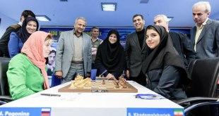 Polémica por el hiyab en el Mundial de ajedrez femenino