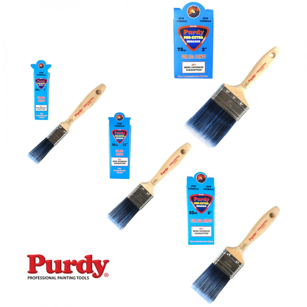 Purdy Pro Extra Monarch Professional Decorating Brushes For Heavy Bodied Paint Ebay - Purdy Paint Brush