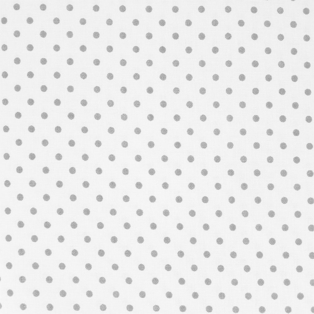 Grey And White Pattern Fabric Dots Grey Dots White Fabric X10cm Rico Design