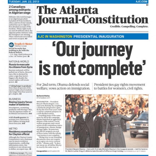 atlanta journal constitution job