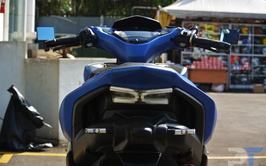 """Modifikasi Yamaha Aerox 155VVA Ini """"Cuma"""" Menelan Biaya Sebesar 11Jutaan, Yuk Intip Rinciannya..!"""