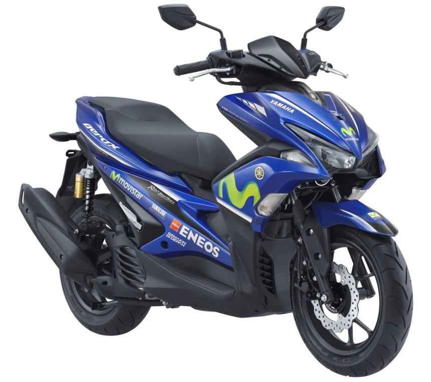 Aerox Movistar Yamaha MotoGP Livery 2017