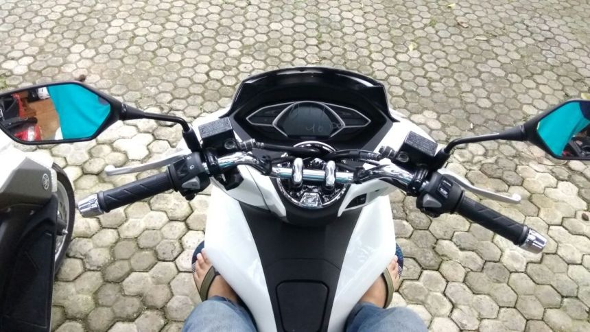 Cover Tutup Tangki New Honda PCX 150 Macet