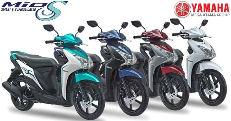 Pilihan Warna Motor Skutik Terbaik Yamaha Mio S