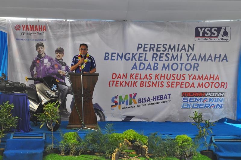 Bengkel Resmi Yamaha Adab Motor: Bentuk Nyata Kerjasama Yamaha Dengan SMK!