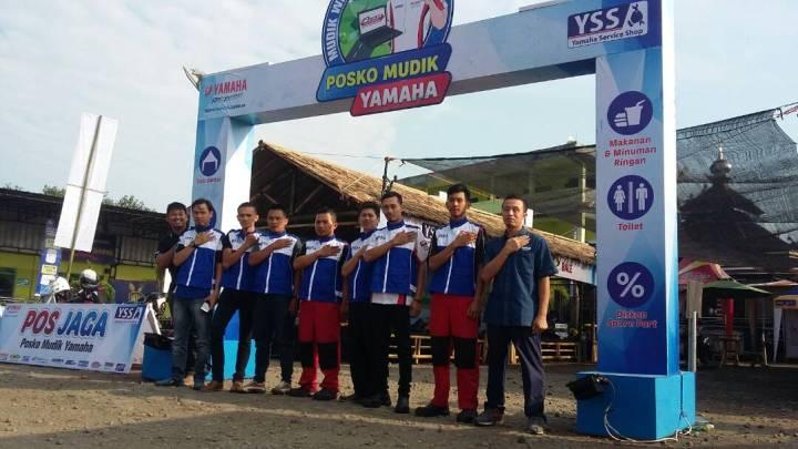 Posko Mudik Yamaha 2019 Dibuka Mulai 1-7 Juni 2019, Semua Merek Boleh Mampir!